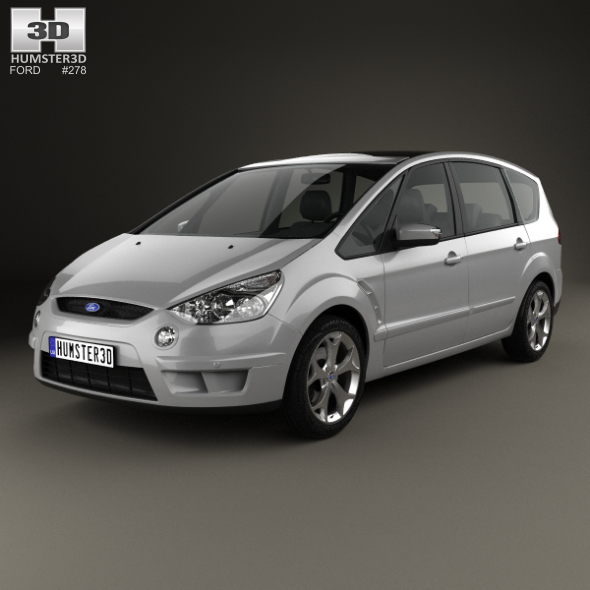 Ford S-Max 2006 - 3DOcean Item for Sale