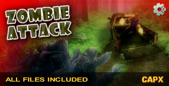 Zombie Attack - (CAPX & HTML) Game! - CodeCanyon Item for Sale