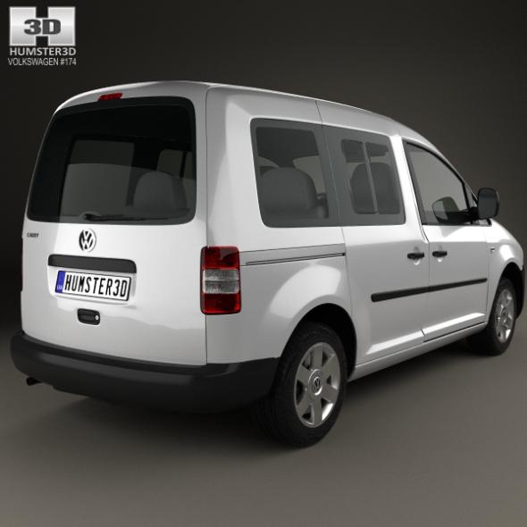 Onwijs Volkswagen Caddy 2004 by humster3d | 3DOcean VV-66