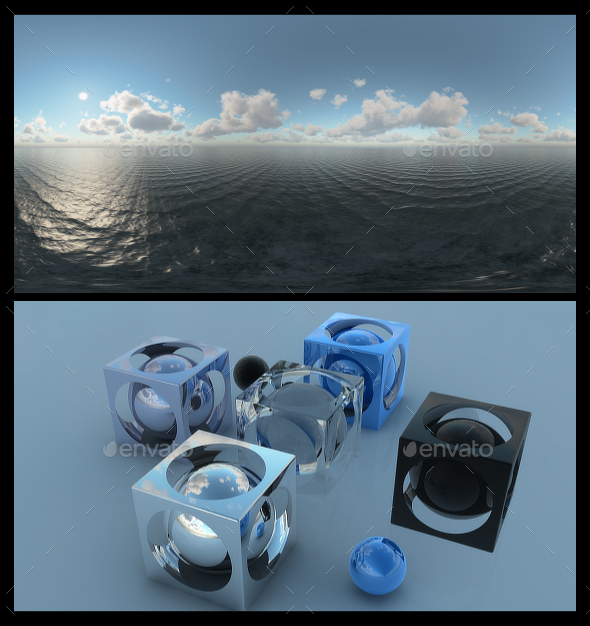 Ocean Bright Day 12 - HDRI - 3DOcean Item for Sale