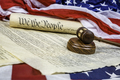 Constitution and Gavel - PhotoDune Item for Sale