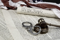 Constitution, Gavel and handcuffs - PhotoDune Item for Sale