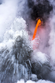 Exploding lava flow in Hawaii - PhotoDune Item for Sale