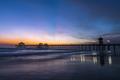 Evening over Huntington Beach pier - PhotoDune Item for Sale