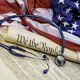 Constitution, Gavel and stethoscope - PhotoDune Item for Sale