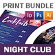 Night Club Print Bundle
