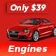 Engines - Automotive, Car Dealer, Vehicle, Dealership, Classifieds WordPress Theme