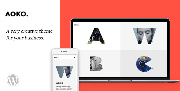 Aoko - Creative WordPress Theme
