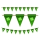 Green Festive Flags with Clovers - GraphicRiver Item for Sale