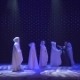 Beautiful Actress Dances with Strangers on the Scene in Theatre - VideoHive Item for Sale