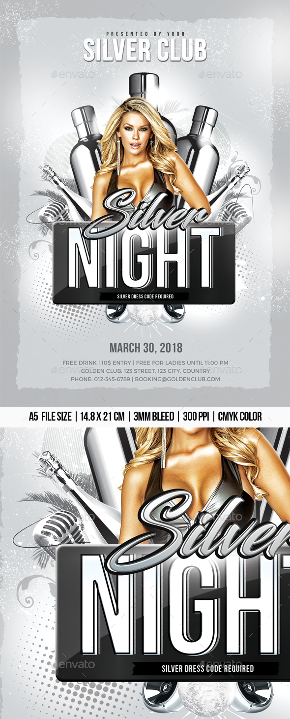Silver Night - Clubs & Parties Events