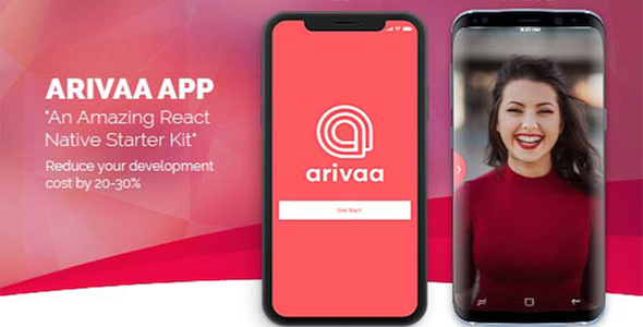 Arivaa - React Native Theme (Basic Version) - CodeCanyon Item for Sale