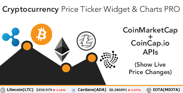 Cryptocurrency Price Ticker Widget PRO - WordPress Plugin - CodeCanyon Item for Sale
