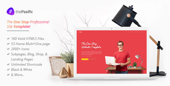 Pasific | Professional Multipurpose HTML5 Template - Corporate Site Templates