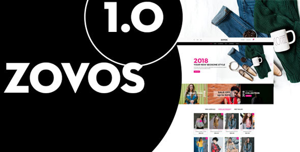 Zovos – Fashion PSD Templates