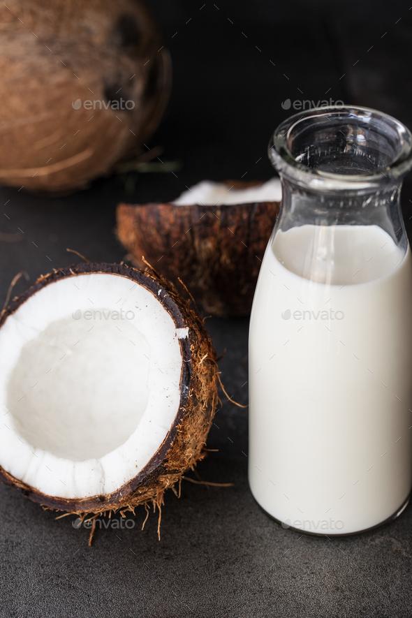 Coconut milk - Stock Photo - Images