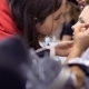 Professional Make-up Artist and Hairdresser Prepares Woman To the Performance - VideoHive Item for Sale