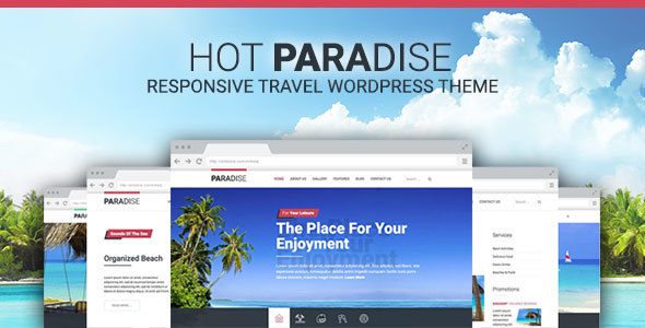 Download Hot Paradise – Responsive Travel Theme nulled hot paradise preview01