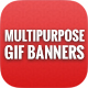 Animated GIF Banner Ads - Multipurpose Banners Ads