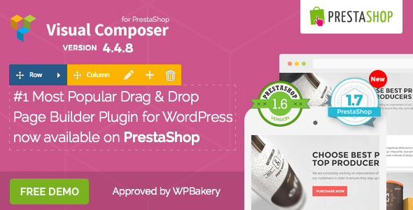 Visual Composer: Page Builder for Prestashop - CodeCanyon Item for Sale