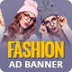 Fashion Shopping | AD Banner Template HTML5