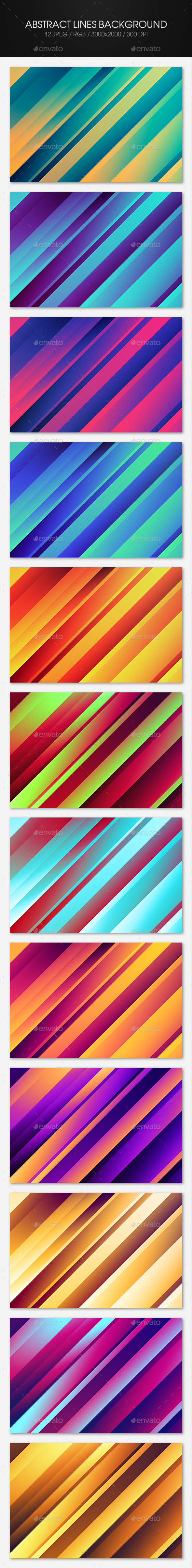Abstract Lines Background - Abstract Backgrounds