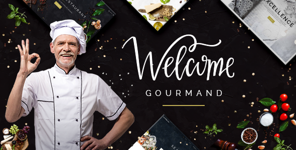 Image of Gourmand - An Exquisite Restaurant and Bistro Theme