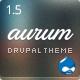 Aurum - Responsive Multipurpose Drupal Theme - ThemeForest Item for Sale