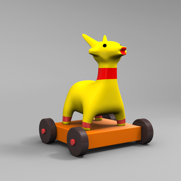 Deer toy - 3DOcean Item for Sale