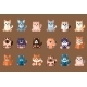 Big Cats Collection. Domestic Animals. Home Pets