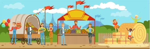 Farmers Market - Food Objects