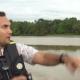 Male Traveler with Binoculars at River Safari Tour - VideoHive Item for Sale