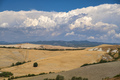Tuscany: the road from Asciano to Siena - PhotoDune Item for Sale