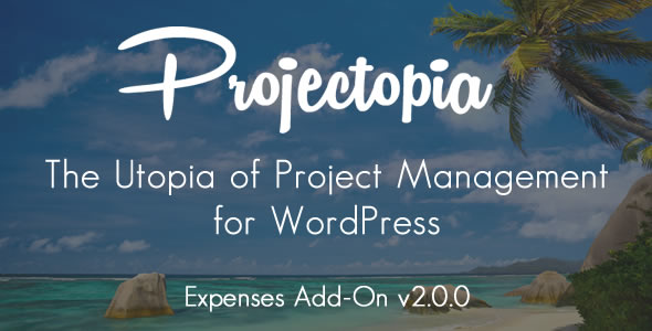 Projectopia WP Project Management - Suppliers & Expenses Add-On - CodeCanyon Item for Sale
