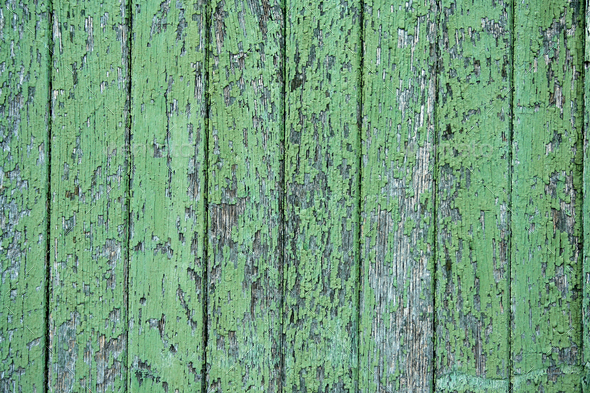 Green wood texture - Stock Photo - Images