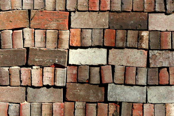 Brick background - Stock Photo - Images