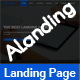 ALanding - Responsive Multipurpose Landing Page Template - ThemeForest Item for Sale