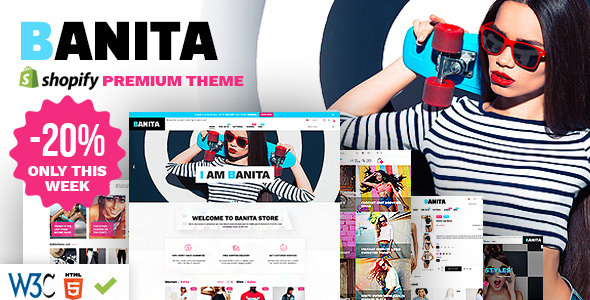 Banita - Shopify Theme - Fashion Shopify