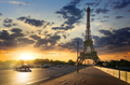 Road to Eiffel Tower - PhotoDune Item for Sale