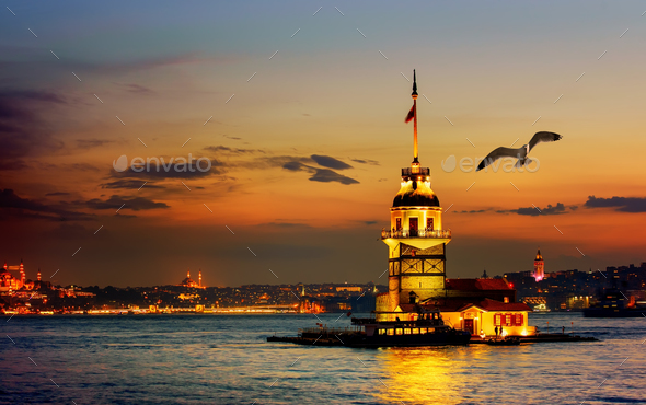 Tower in Istanbul - Stock Photo - Images