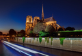 Notre Dame cathedral at night - PhotoDune Item for Sale