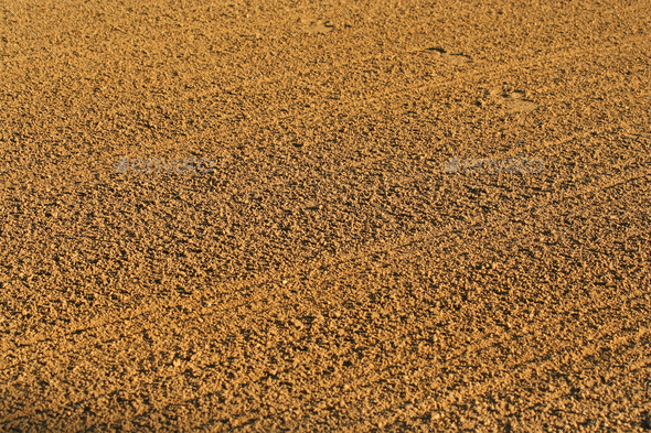 Baseball infield sandy background texture - Stock Photo - Images
