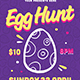 Egg Hunt Flyer - GraphicRiver Item for Sale