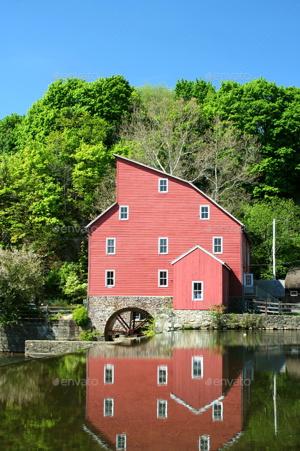 Grist mill - Stock Photo - Images
