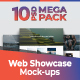 3d Web Showcase Mockups - GraphicRiver Item for Sale