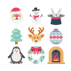 Easter and Christmas Vector Icon Pack