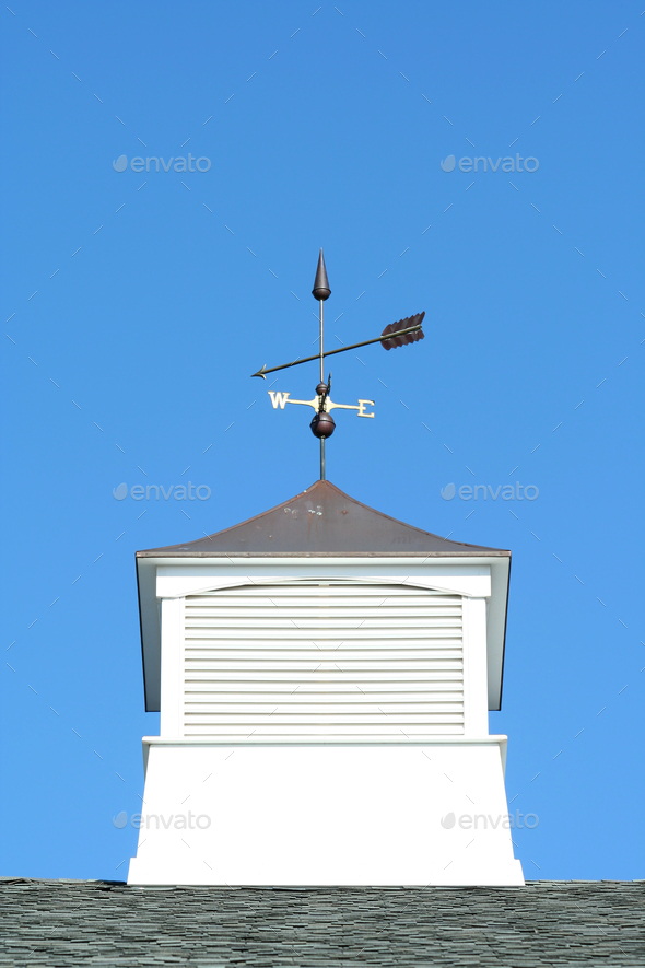 Weather vane - Stock Photo - Images