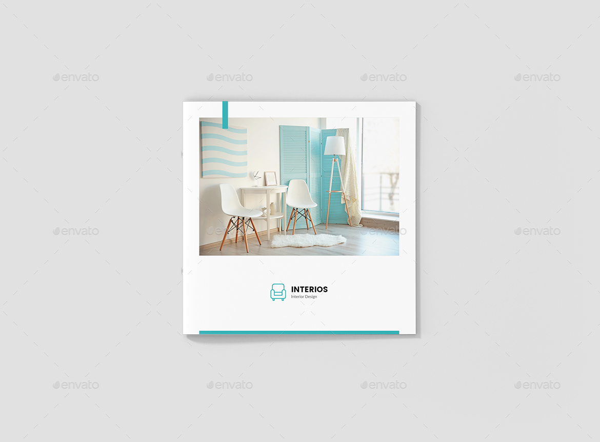 Interios – Interior Design Square Brochure