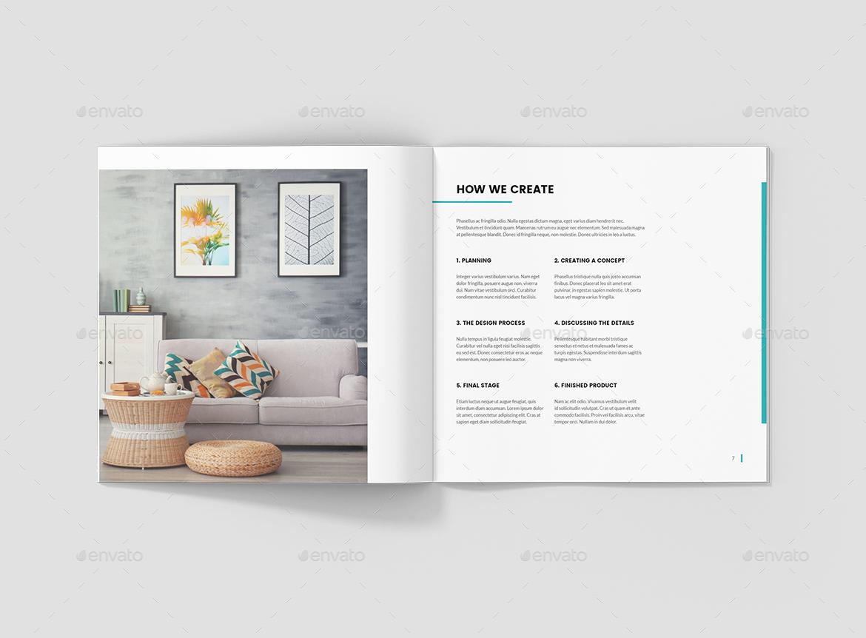 Interios – Interior Design Square Brochure