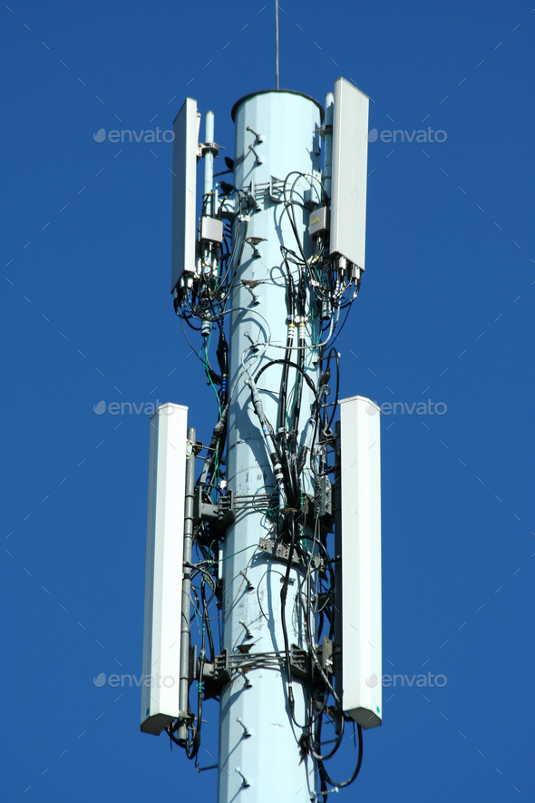 Radio tower - Stock Photo - Images